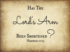 THE LORD'S ARM